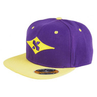 Sacrifice Original Snapback Cap - Purple