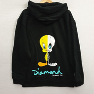 Diamond X Looney Tunes X-Ray Hoodie - Black