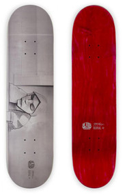Alien Workshop x Burial Untrue Yaje Popson Skateboard Deck - 8.175""