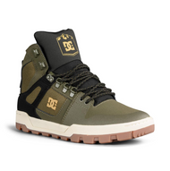 DC Shoes - Pure High Top WR Boot – Olive / Black