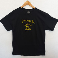 Thrasher Skateboard Magazine Gonz Tee - Black