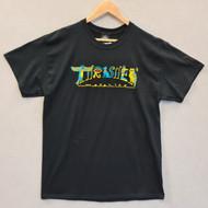 Thrasher Skateboard Magazine Hieroglyphic Tee - Black