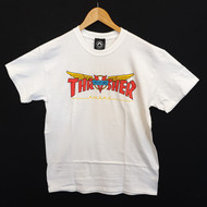 Thrasher X Venture Skateboard Magazine Tee - White