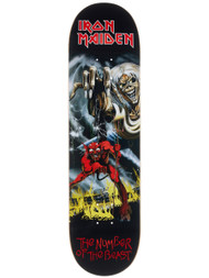 Zero x Iron Maiden - Number Of The Beast Deck - 8.25 x 31.9