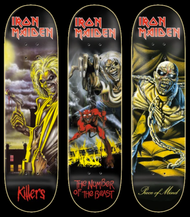 Zero x Iron Maiden Full Set Of 3 Boards