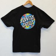 Santa Cruz Skateboards Primary Dot Logo Tee - Black