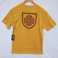 Brixton X Independent Skateboards Hedge Tee - Yellow