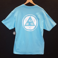 Welcome Skateboards Triangle Tee - Blue