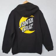 Santa Cruz Moon Dot Hoodie - Black