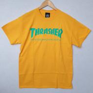 Thrasher Skate Mag Tee - Gold