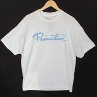 Primitive Skateboarding Neuvo Logo Tee - White