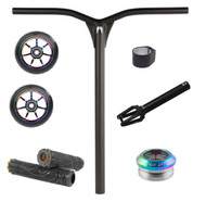 Ethic DTC - Just Add Deck Stunt Scooter Kit - Black / Neo Chrome