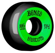 Bones 100's Skateboard Wheels V5 Sidecut 54mm