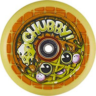 Chubby Waffle 110mm Scooter Wheel inc. ABEC 9 Bearings