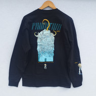 Primitive X Moebius Major Tour Long Sleeve Tee - Black