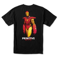 Primitive x Marvel x Moebius Iron Man Tee - Black