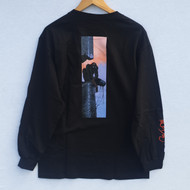 Primitive x Marvel x Moebius Spider Man Long Sleeve Tee - Black