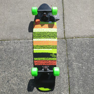 Z Flex Cruiser - Outbreak Green - Complete Skateboard