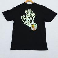 Santa Cruz T-Shirt - Smoke Signal - Black