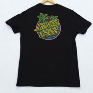 Santa Cruz T-Shirt - Glow Dot - Black