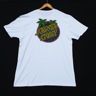 Santa Cruz T-Shirt - Glow Dot - White
