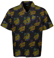 Santa Cruz Shirt - Glow Shirt - Glow Print