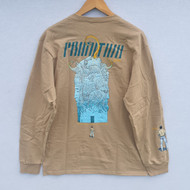 Primitive X Moebius Major Tour Long Sleeve Tee - Tan