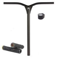 Ethic DTC Dryade 62 Aluminium Stunt Scooter Bars + Grips + Clamp - Black