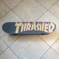Blank SB Beginner Skateboard - Thrasher Griptape - 7.5 inch wide - Black Stain