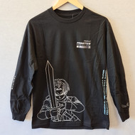 Primitive x DBZ Future Trunks Longsleeve Tee - Black
