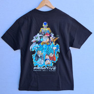 Primitive x DBZ - Resurrection Tee - Black