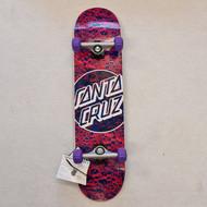 Santa Cruz - Foam Dot Complete Skateboard  7.75 Inch Wide