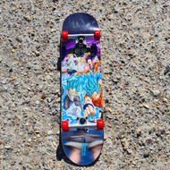 Primtive x Dragon Ball Z - Whole Gang Complete Skateboard - 8.1 inch wide