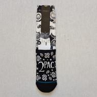 Stance x 2 Pac Bandana Socks - White