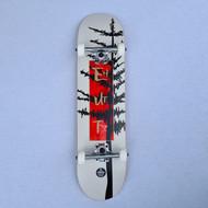 "Enuff Big Evergreen 8"" Skateboard Complete - White"