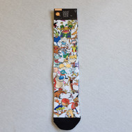 Odd Sox x Nickelodeon Socks - White