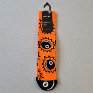 Stance - 8 Ball Scratches - Orange