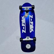 Z Flex Cruiser - 80s Crystal Z-Bar - Complete Cruiser Blue Crystal - 31.25 Inch Long