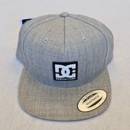 DC Logo Snapback Hat - Grey