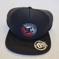 DC Trucker Seamless Hat - Black