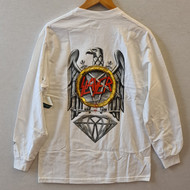 Diamond x Slayer - No Mercy Longsleeve Tee - White