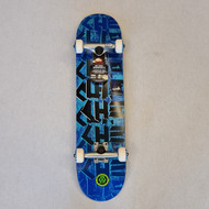 Cliche Complete Pro Skateboard - 7.375 Inch - Scotch Tape - Blue