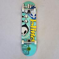 Blind Complete Pro Skateboard - Rasta Tamtrum Teal - 8 Inch