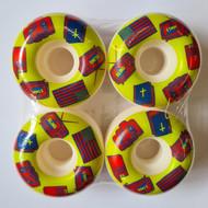 Blind American Icons Skateboard Wheels 51mm - White