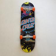 """Santa Cruz Complete Skateboard Dot Splatter - 8.25"""""""