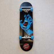 "Santa Cruz Complete Skateboard Screaming Hand - 8"""