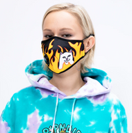 RIPNDIP - Ventilator Face Mask - Welcome To Heck