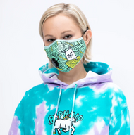 RIPNDIP - Ventilator Face Mask - Nermal Leaf
