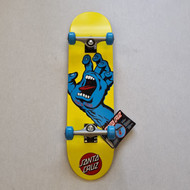 "Santa Cruz Screaming Hand 7.75"" Pro Complete Skateboard - Yellow"