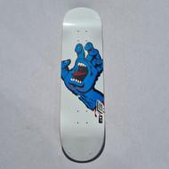 "Santa Cruz x Screaming Hand Deck - 8.25"" - White"